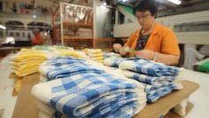 Ürettikleri çorapları 61 ülkeye ihraç ediyorlar